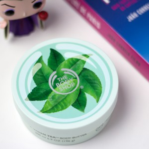"Manteiga corporal ""Chá Verde"" da The Body Shop"
